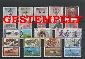 Germany-Berlin-vintage-yearset-1979-Postmarked-Used-complete-More-Sh-Shop