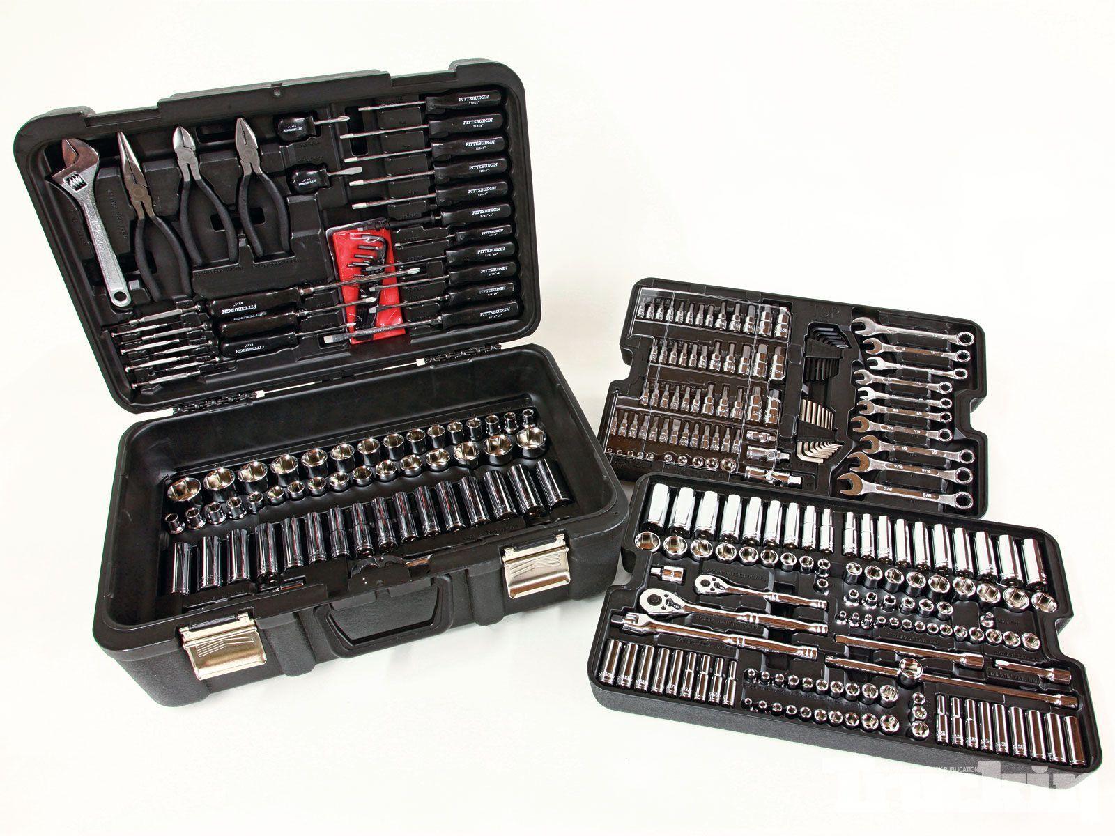 Brand New 301 Piece Mechanic's Tool Set Kit Shop Garage Repair