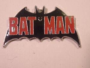 Batman-1987-Cloisonne-Enamel-Metal-Pinback-NEW-NOS-Vintage-Mint