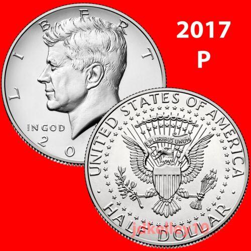 2017-P KENNEDY HALF DOLLAR SINGLE COIN UNCIRCULATED COINS US MINT