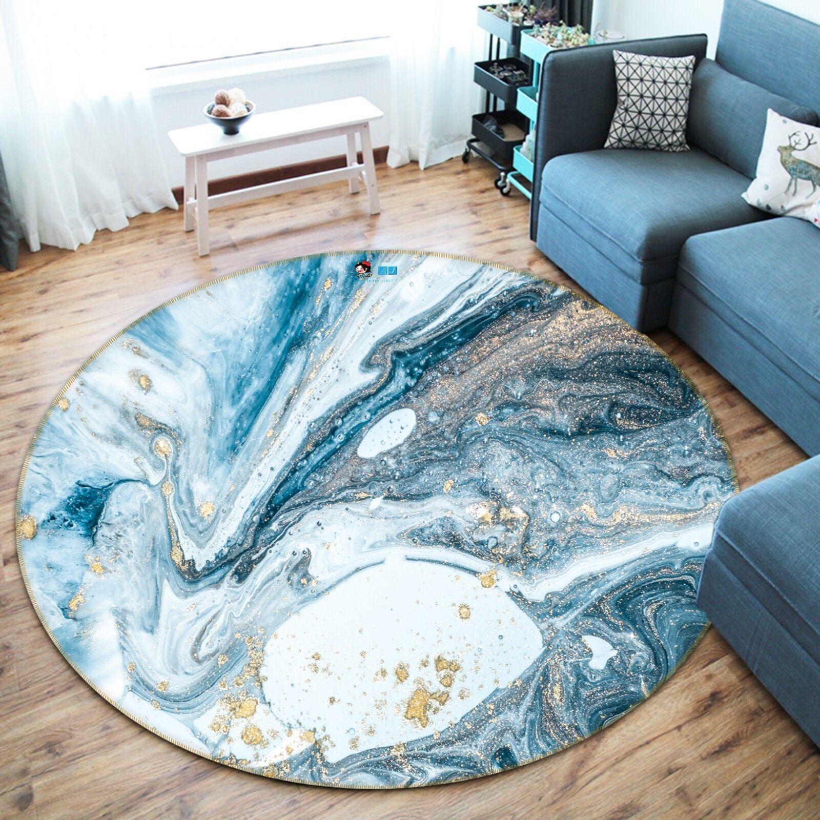 3d astratto MARE WAVE 6 antiscivolo tappeto bagagliaio giri elegante TAPPETO