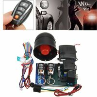 Universal 1 Way Anti-Theft Vehicle Car Alarm Keyless Entry System Vibrator Siren