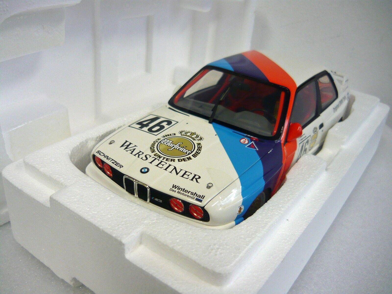 Minichamps 180872046, BMW m3, Ravaglia Pirro, Calder WTC 1987, 1 18, neu&ovp