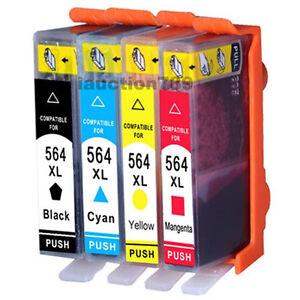 8-pcs-Ink-Cartridge-564XL-for-HP-Photosmart-B109-B110-B8550-B8553-C309-C410
