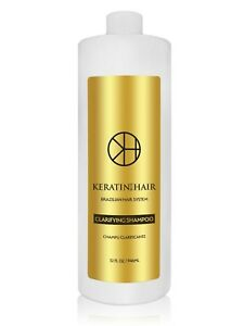 Keratin For Hair Clarifying PreTreatment AntiResidue Detoxifying Shampoo 32 oz  eBay