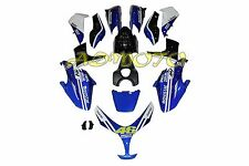 Fairing Kit Panel Bodywork for Yamaha TMAX 500 2008 2009 2010 2011 Blue Black