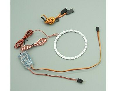 Free Shipping ! Cyclone Power 3 Colour Led AfterBurn Sys For Twin 80mm EDF Jet