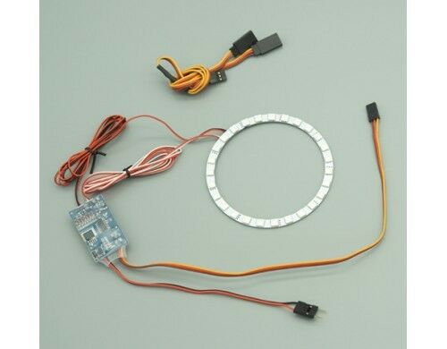 Free Shipping ! Cyclone Power 3 Colour Led AfterBurn System For 80mm EDF Jet