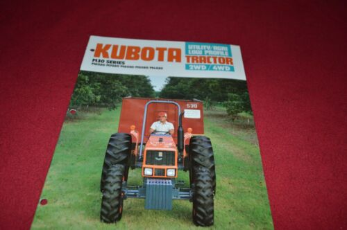 Kubota M8030 M7030 M5030 M4030 Tractor Dealers Brochure DCPA2