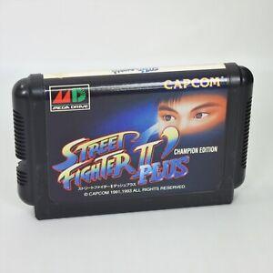 Mega Drive STREET FIGHTER II 2 DASH PLUS ' Plus Cartridge Only Sega 2574 mdc