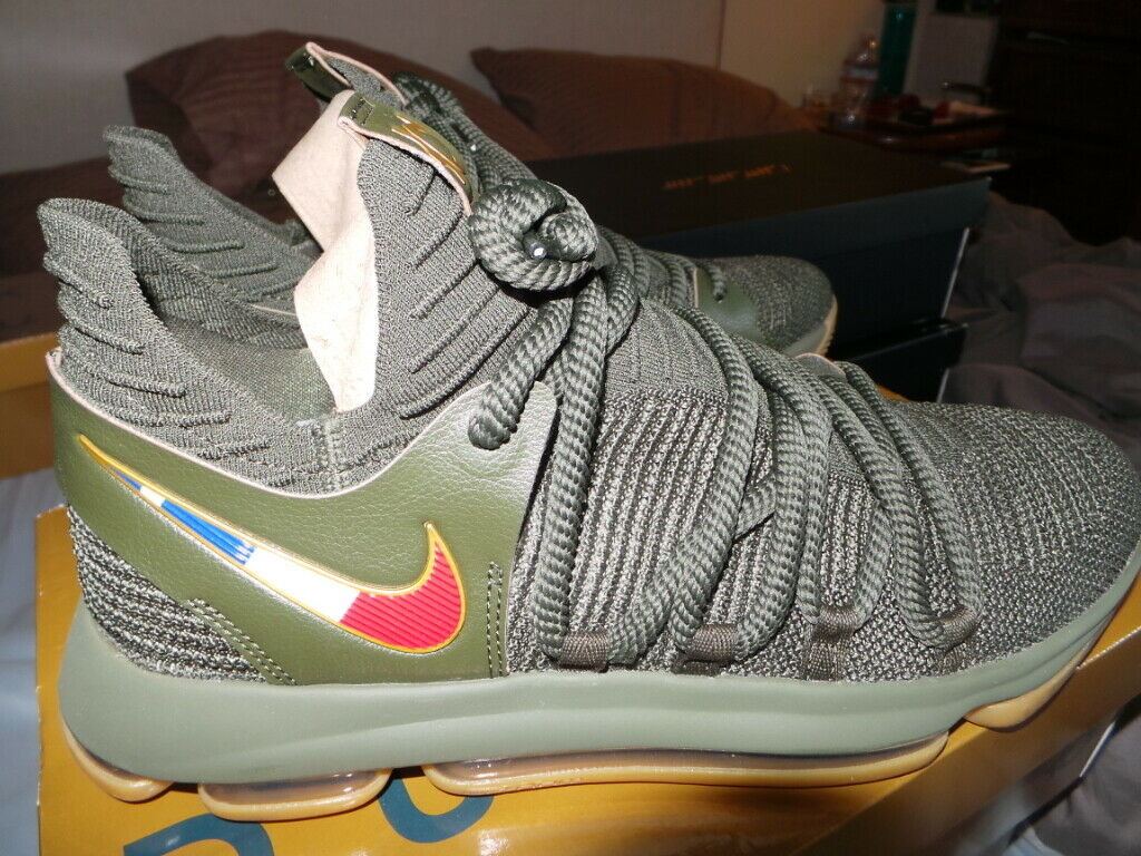 Nike Air Zoom KD 10 KD10 KDX SKILLS ACADEMY PE Player Sample Kevin Durant DS 11