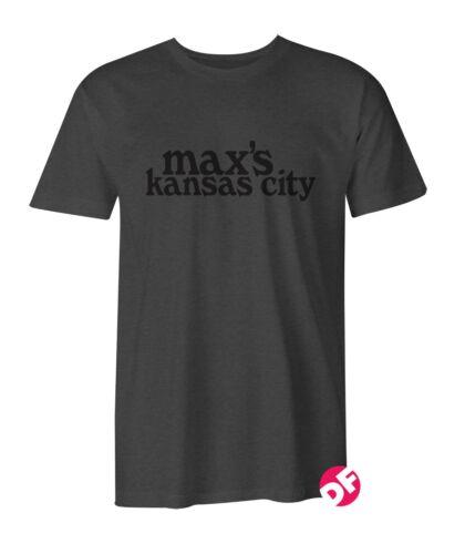 Ramones Max/'s Kansas City Rétro T Shirt American punk 70 s PUNK CBGB NY Dolls