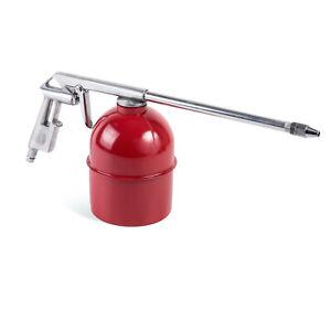 Druckluft Sandstrahlpistole mit Saugbecher Sandstrahlgerät 2-4 bar Druck