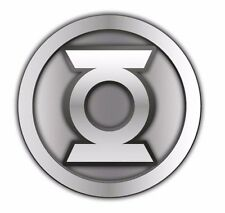 DC Comics GREEN LANTERN Logo Pewter Metal Enamel Costume Pin