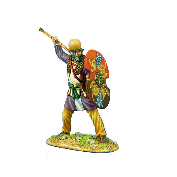 AG049 Persian Warrior with with with Spear and Shield by First Legion 9c6c83