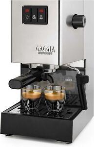 BRAND-NEW-Gaggia-Classic-Espresso-Machine-List-Price-370-WORLDWIDE-SHIPPING