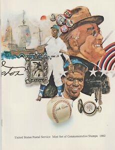 United-States-Postal-Service-Mint-Set-1982-Commemorative-Stamps-Complete-Set