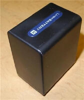 3800 Mah Battery For Sony Hxr-nx30 Hxr-nx70 Hxr-mc50 Hxr-mc50e Hxr-mc50u