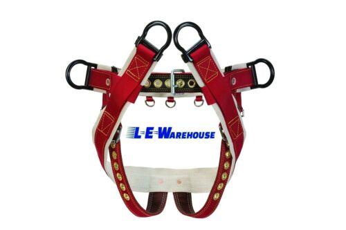 "WEAVER LEATHER WLC-160 4D CLIMBING SADDLE W// 2/"" NYLON LEG STRAPS SMALL"