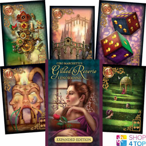 GILDED-REVERIE-LENORMAND-ORACLE-DECK-CARDS-CIRO-MARCHETTI-ESOTERIC-TELLING-NEW
