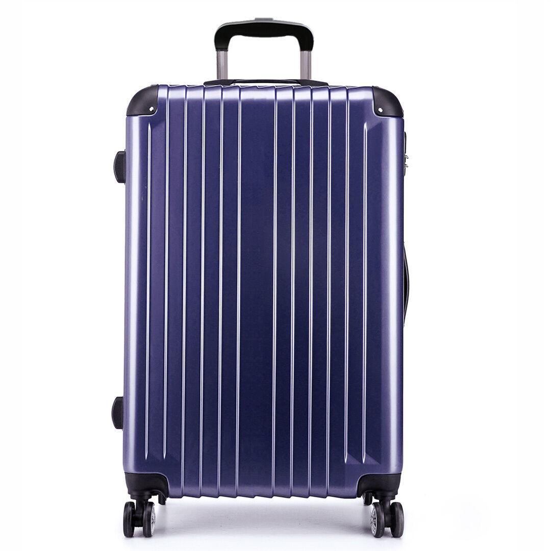 kono hardshell luggage lightweight travel suitcase abs pc. Black Bedroom Furniture Sets. Home Design Ideas