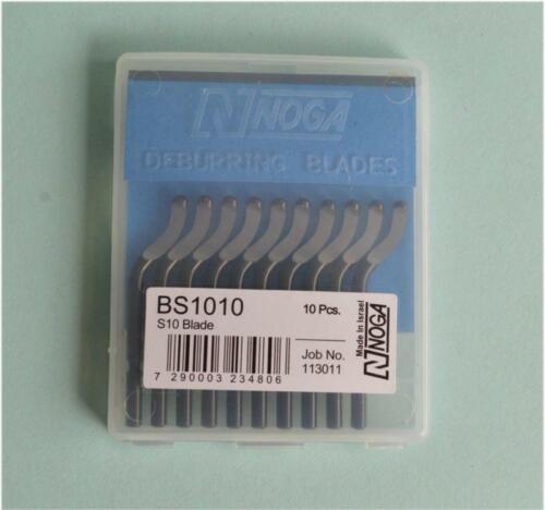 20 Blades BS1010  For  NOGA NB1000 RB1000 NB1100  Deburring Tool