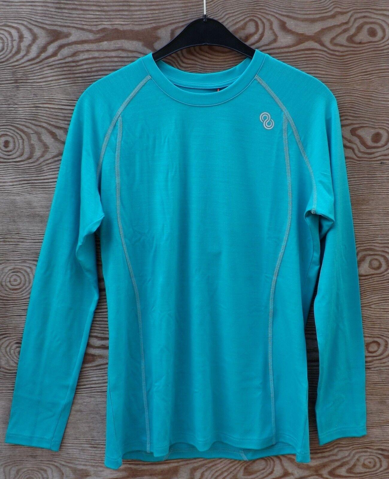 rotA Rewoolution Wiki - Woherren T-Shirt LS 190 Unterwäsche Merinowolle fjord