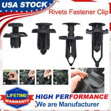 40pcs Plastic Rivets Plastic Push Pin Fastener Retainer Bumper Fender Trim Clips Fits 2009 Hyundai Santa Fe