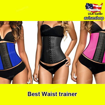 Underbust Corset Slim Waist Cincher Trainer Girdle Shaper Workout Belt Best # 1