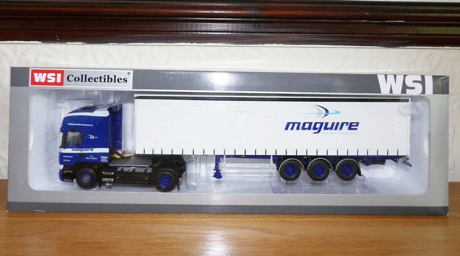 RARE 1.50 WSI 4 x 2 Scania Topline Maguire International Ballinode Co Monaghan