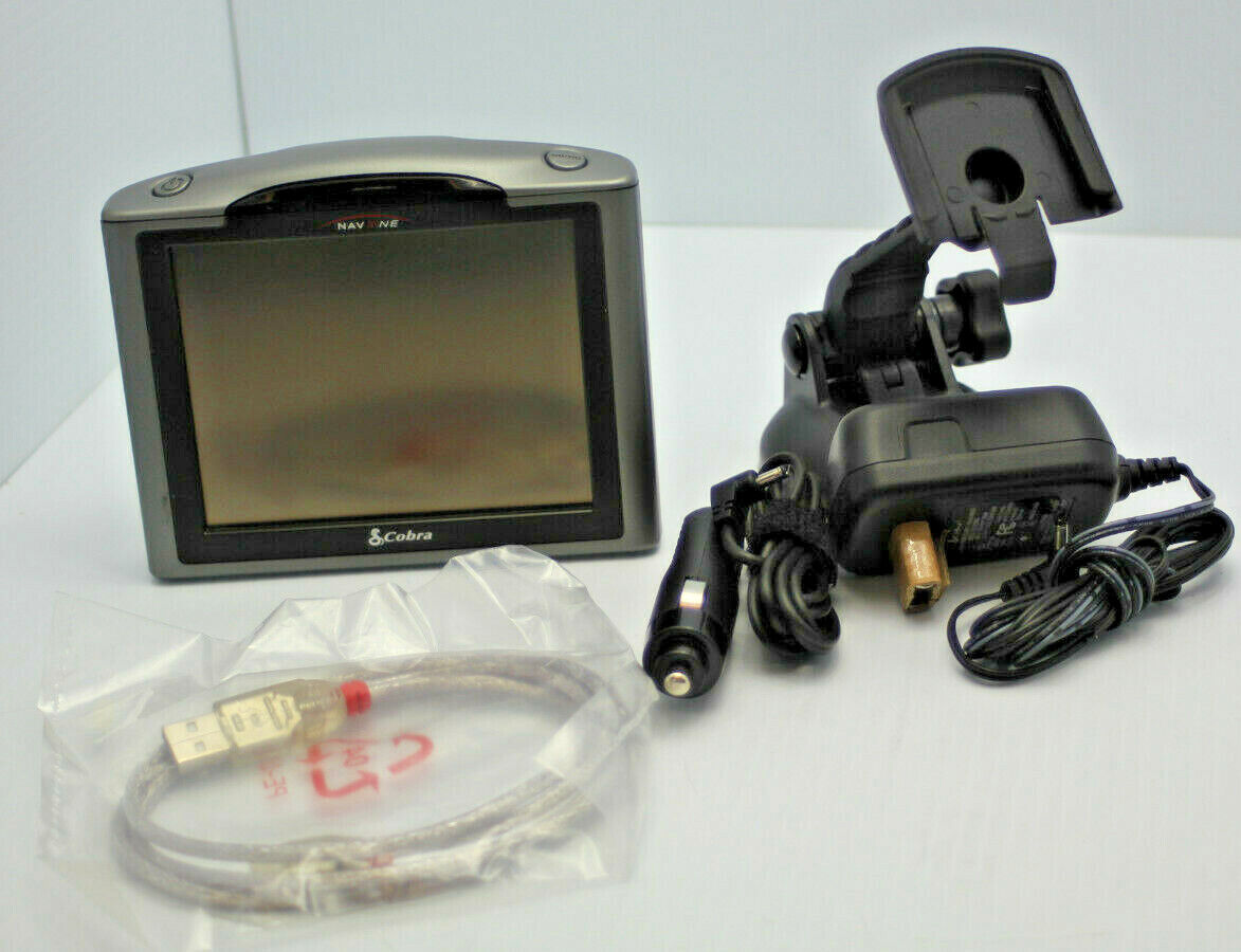 Cobra GPSM5000 NAV One 5000 Portable Navigation GPS Navigator Refurbished