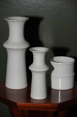 3 Tapio Wirkkala Vase Vasen 70er Pop Ära Design Rosenthal Porzellan Studio Linie