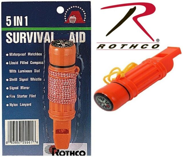 Outdoor Survival Bright Orange Dolphin Safety Emergency Whistle G8E7 20X