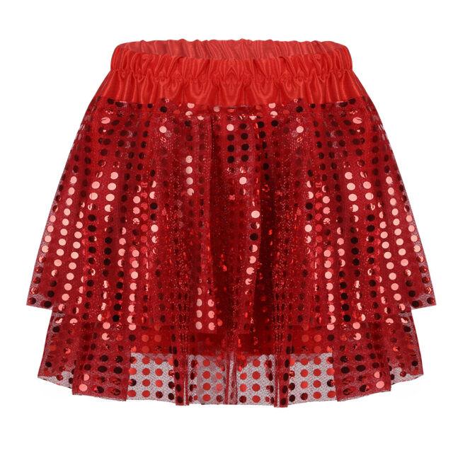 Kids Girls Princess Tiered Tutu Skirt Ballet Dancing Party  Size 0//1//2//3//4