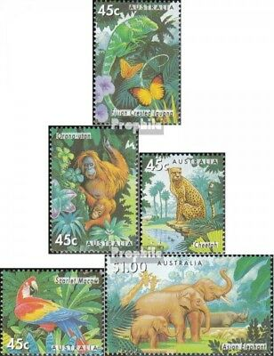 Never Hinged 1994 Affecte Unmounted Mint Clever Australia 1428-1432 complete.issue.