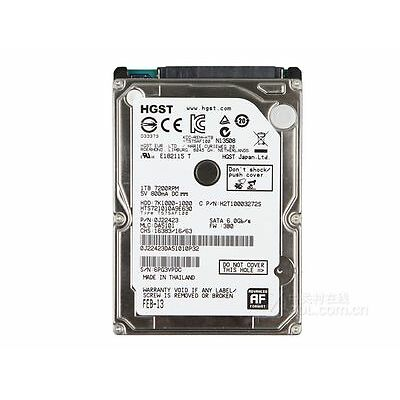 HARD DISK INTERNO NOTEBOOK 2,5 HGST 1TB 1000GB 32MB SATA 7200rpm HTS721010A9E630