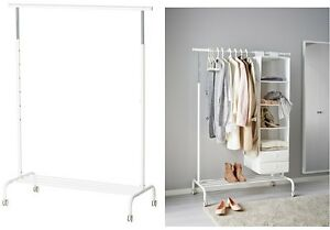 image is loading ikea rigga height adjustable cloth amp shoe rack - Shoe Rack Ikea