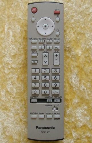 TH-37PA30 TH-42PV30A  TH-50PV30A .... Original Panasonic Remote EUR7636120R