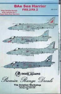 BAe Sea Harrier Royal Navy 1/72 Model Alliance 72107