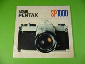 Anleitung-Bedienungssanleitung-ASAHI-PENTAX-SP-1000-Kamera-Manual