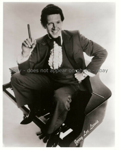JERRY LEE LEWIS THE KILLER ROCK COUNTRY GOSPEL SINGER SONGWRITER 8 X 10 PHOTO
