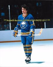 GILBERT PERREAULT In Action 8x10 Photo BUFFALO SABRES HOF GREAT~512 GOALS WoW