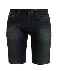 Superdry Shorts Blue Slim Interstate Mens New vq5w88