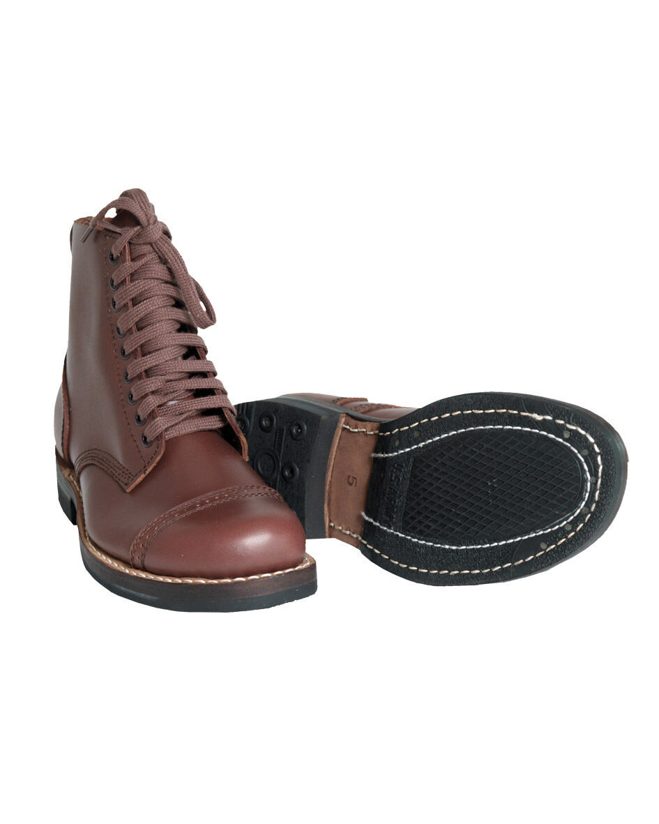 Mil-Tec US SERVICE SHOES repro repro repro Chaussures Chaussures en Cuir Travail Chaussures Basses 39-46 927a09