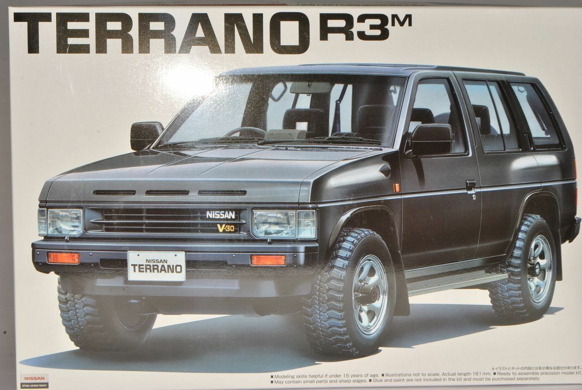 Nissan Terrano R3 1 black 1987-1995 044155 Kit Kit Kit Bausatz 1 24 Aoshima Modell A.. 7763d9