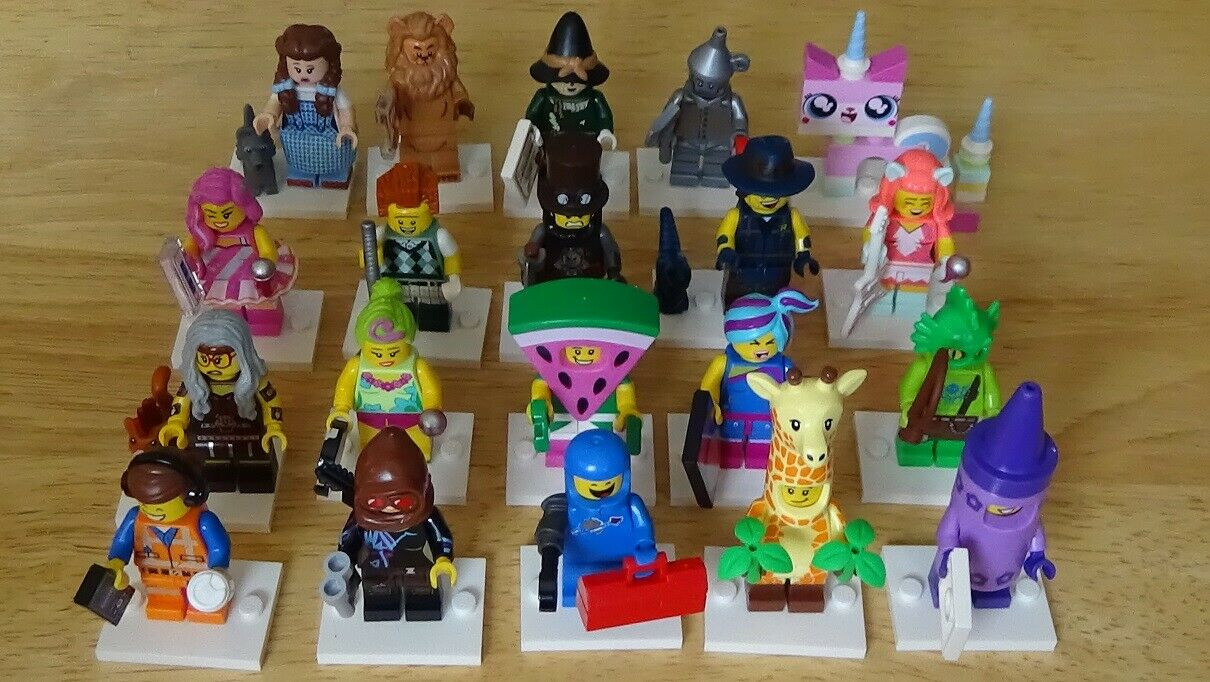 Lego 71023 LEGO MOVIE 2 Figurine Series Wizard of Oz Jeu complet de 20