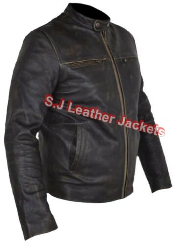 CE Armour Protection Men/'s Fashion Hunger Games Cow Leather Motorcycle Jacket