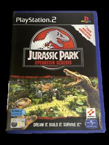 Jurassic Park Operation Genesis PS2 PAL *No Manual*