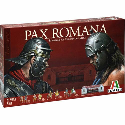 ITALERI Pax Romana Diorama & Wargame Set 6115 1 72 Model Kit