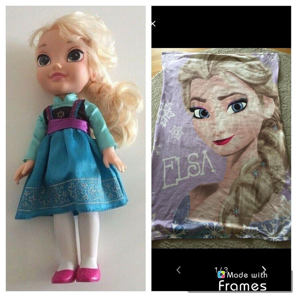 Andet, Elsa dukke og tæppe